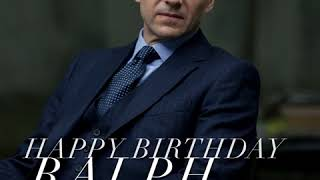 HAPPY BIRTHDAY RALPH FIENNES