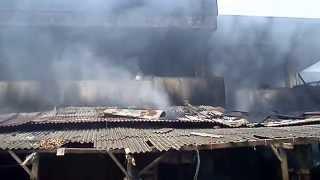 Kebakaran Pasar Jatibarang Indramayu