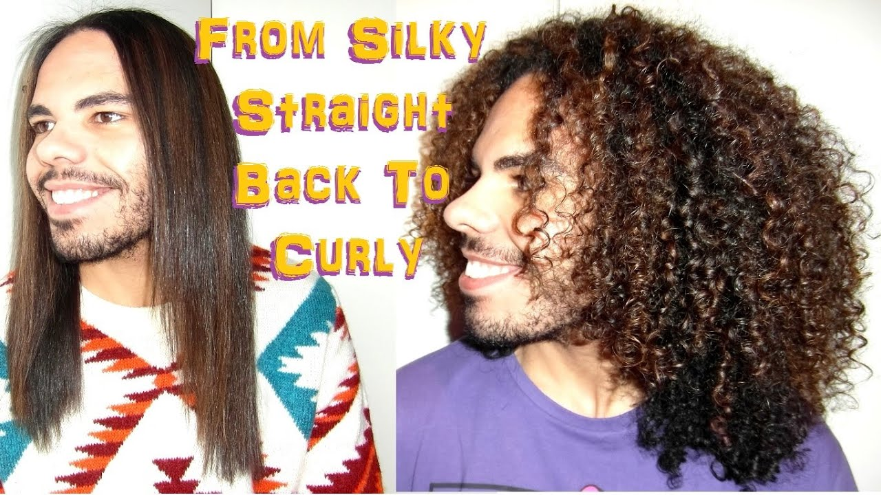 From Silky Straight Back To Curly After The Best Flat