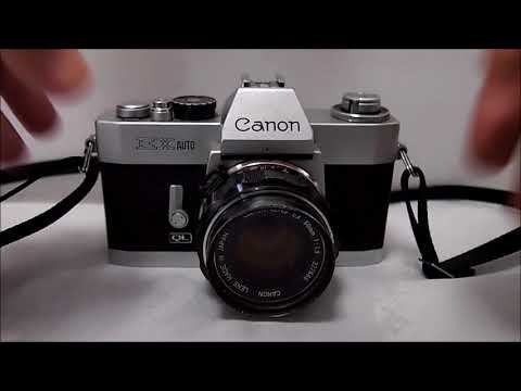 Analoge Fotografie Canon Ex Auto Bedienungsanleiung
