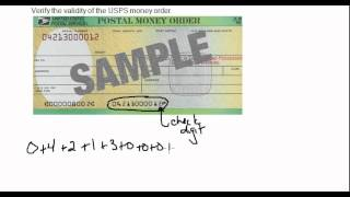 Validity of a USPS Money Order