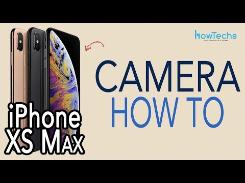 IPhone XS Max - How To Use The Camera / Bokeh Demo | Howtechs