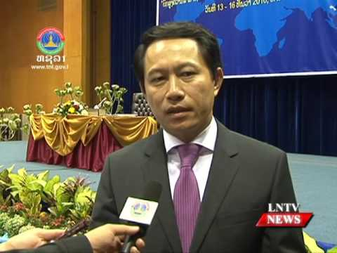 Lao NEWS on LNTV: Foreign affairs, the sector still needs for personnel development.16/12/2016