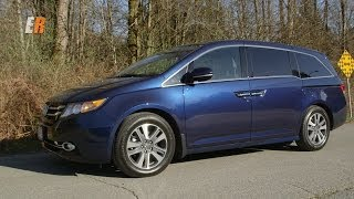 2014 Honda Odyssey Touring Review Test Drive - The Ultimate Family Hauler?