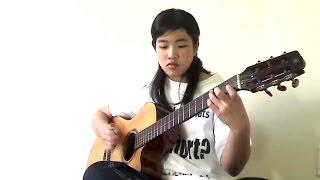 Tàn tro (Cover: Viginia Nguyen - Bé Mẫn) Guitar solo