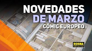 Novedades EUROPEO | MARZO 2020