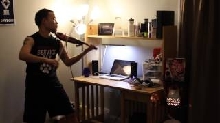 Donell Jones - Where I Wanna Be (Violin Cover) - Justin Chiou