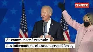 Présidentielle américaine : Donald Trump reconnaît indirectement la victoire de Joe Biden