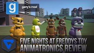 FIVE NIGHTS AT FREDDY'S NEW MODEL ANIMATRONICS REVIEW GMOD