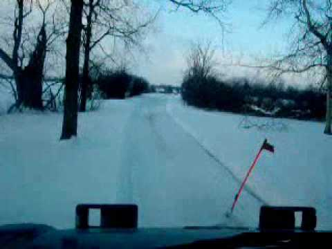 2006 GMC 5500 Plowing Snow YouTube