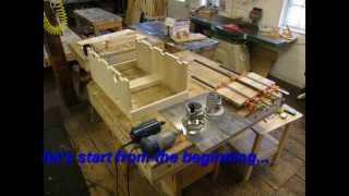 Power Feed Router Table Machine Jig (part 1/4)