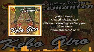 Ketawang Subokastowo-Pahargyan Temanten-Kebo Giro-Giro Temanten-