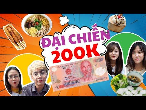 HÔM NAY ĂN GÌ - 200K ăn Hết Hà Nội !!!