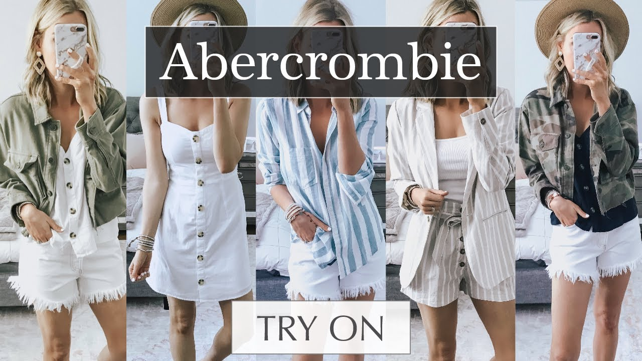 Abercrombie Try On Haul: Spring 2019 Outfit Ideas   Lee Benjamin