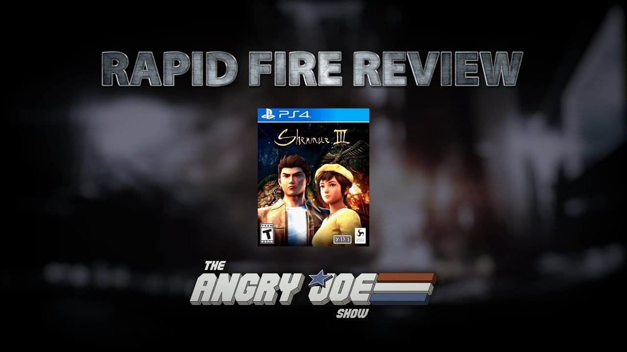 Shenmue III Rapid Fire Review (Video Game Video Review)