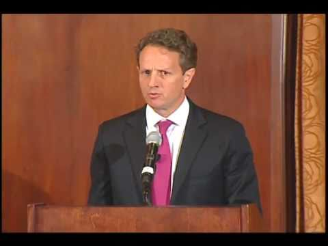 Treasury Secretary Geithner: Confidence More Expensive to Recover Than Keep