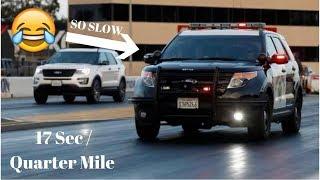 DRAG RACING POLICE OFFICERS!