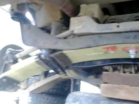 задняя подвеска Nissan Serena C23
