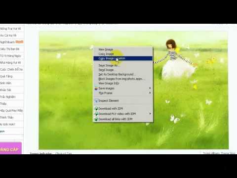 Video Cách làm ảnh nền cho blog trên Zing Me.flv