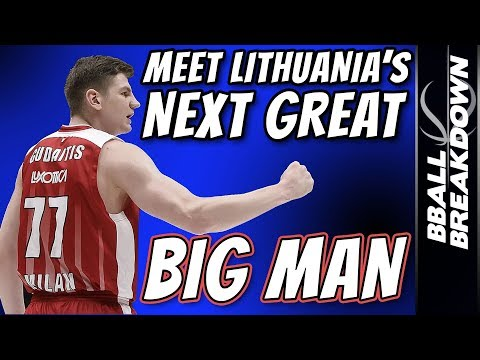 Meet Lithuania's Next Great Big Man