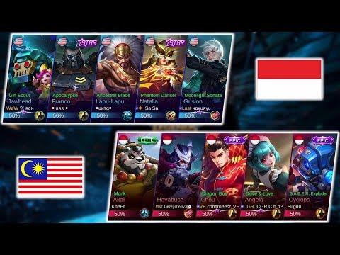 SALUT !!! PERJUANGAN MALAYSIA LAWAN TOP GLOBAL !!! MALAYSIA VS INDONESIA - ARENA CONTEST