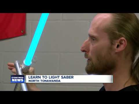 The force is strong at this North Tonawanda light saber school