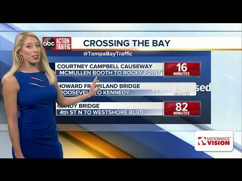 Deadly wrong-way crash on Howard Frankland Bridge