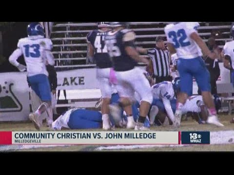 Community Christian vs. John Milledge 2019 Georgia high school football highlights (Week 9)