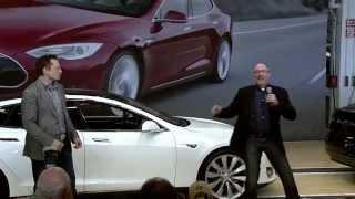 Tesla Model S first customer delivery - live event