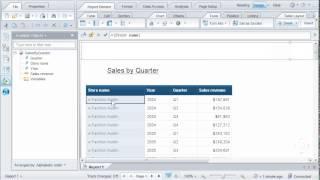 إنشاء فواصل بين مجموعات من البيانات: SAP BusinessObjects ويب الاستخبارات 4.0