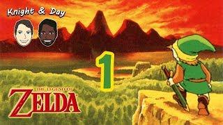 Throwback Thursdays - The Legend of Zelda Walkthrough Part 1 - The Origin of Link, Zelda, and Gannon