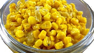 Такую КУКУРУЗУ любят все! Жареная кукуруза с сыром в пикантном сливочном соусе.  Cooking Day