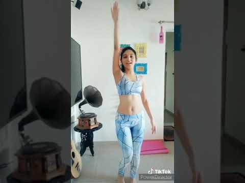 Hot Tik tok dance video