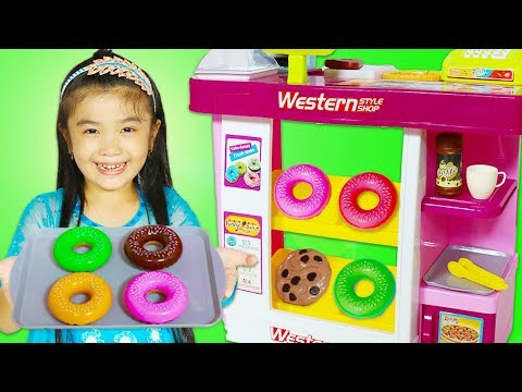 Hana Pretend Play with Food Toys Kitchen Playset