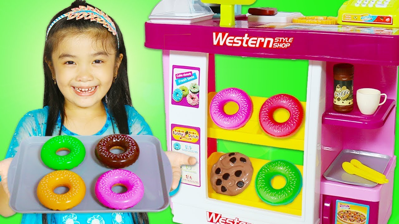 hana pretend play with food toys kitchen playset - Hana Kitchen