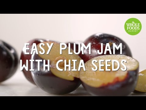 Easy Plum Jam with Chia Seeds | Special Diet Recipes l Whole Foods Market
