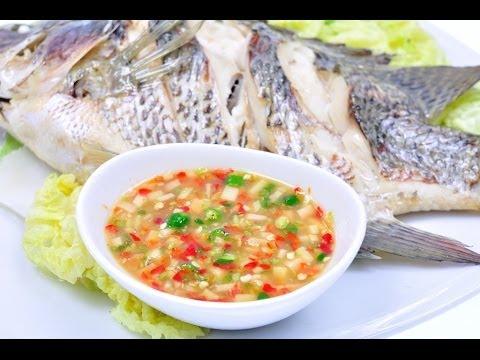 น้ำจิ้มปลานึ่งสูตรเต้าเจี้ยว Spicy Soy Bean Sauce