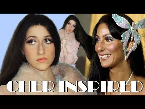 Cher Makeup and Hair Inspired Look 1970's