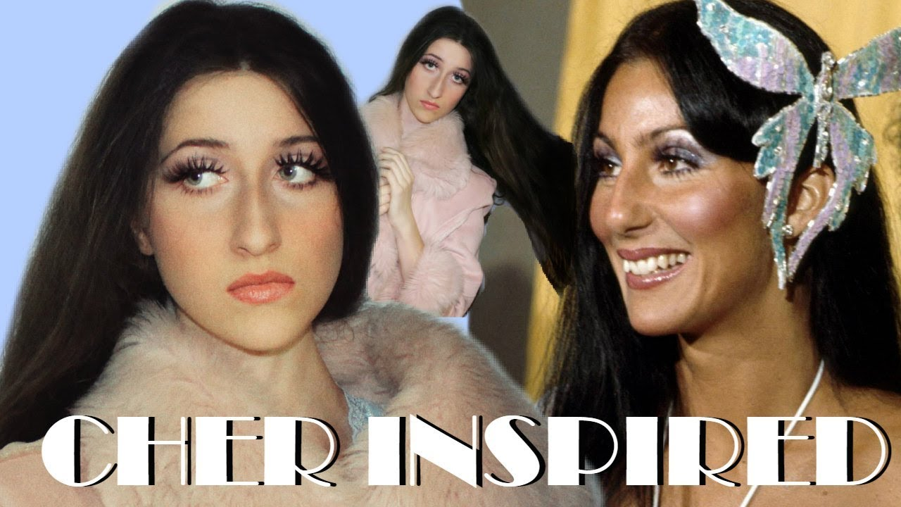 Cher Makeup And Hair Inspired Look 1970 S Youtube