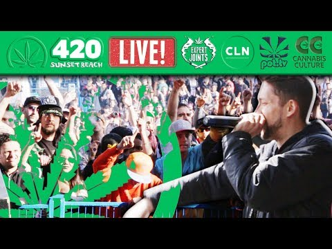Vancouver 420 2018 LIVE from Sunset Beach
