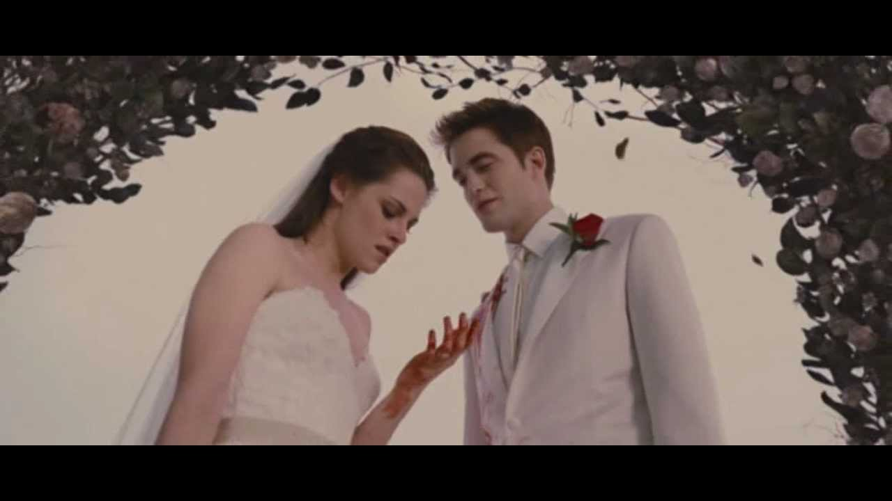 Breaking Dawn Bellas Wedding Dream Youtube
