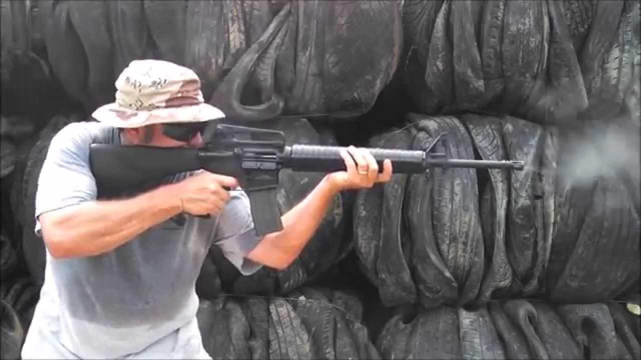 M16a3 Machine Gun Full Auto Version Of M16a4 Youtube