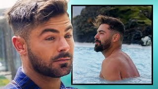 24/7 celebrity newssubscribe http://bit.ly/subhollywirezac efron is everything in his new netflix show 'down to earth with zac efron' where he travels va...