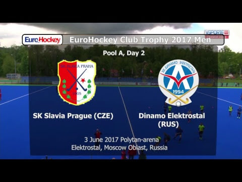 EuroHockey Club Trophy 2017 Men - Elektrostal, Russia - Day 2
