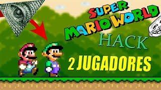 MARIO BUG Y LUIGI HACKS | Super Mario World (de 2 jugadores) | Link Mega