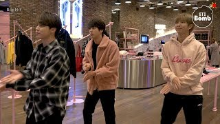 [BANGTAN BOMB] Dance With BTS @ BTS POP-UP : HOUSE OF BTS - BTS (방탄소년단)
