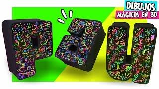 DIBUJOS MÁGICOS en LETRAS 3D Decorativas✔ ★Así o Más Fácil★ ♥ DIY