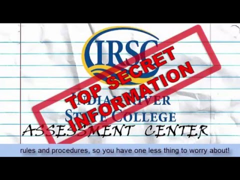 Indian River State College Assessment Center Information