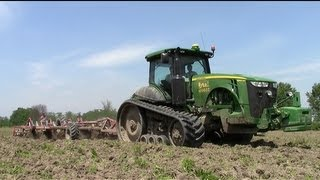 8360RT + Terrano 6 FM - Minimum Tillage in Italy 2013