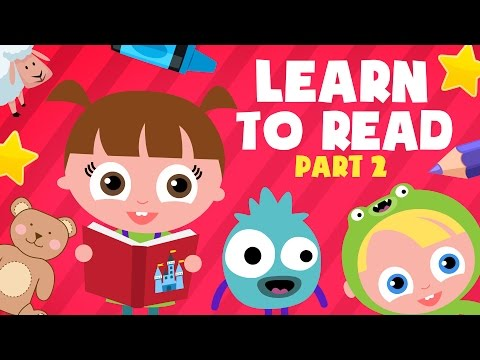 ABC Phonics | Reading for kids Part 2 | LOTTY LEARNS